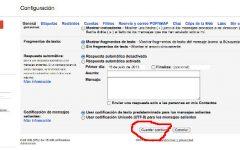 Como configurar una firma de correo electrónico en Gmail
