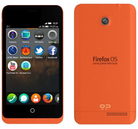 Mozilla anuncia Keon y Peak, los primeros smartphones en llevar Firefox OS