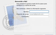 Configurar Gmail, Yahoo! y Outlook con Mac OS X