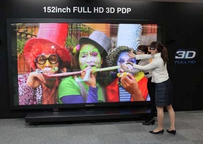 Panasonic: plasma 3D Full HD