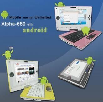 Alpha 680: primera netbook con Android