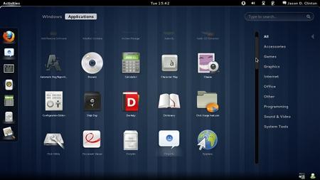 Publicado GNOME 3.0