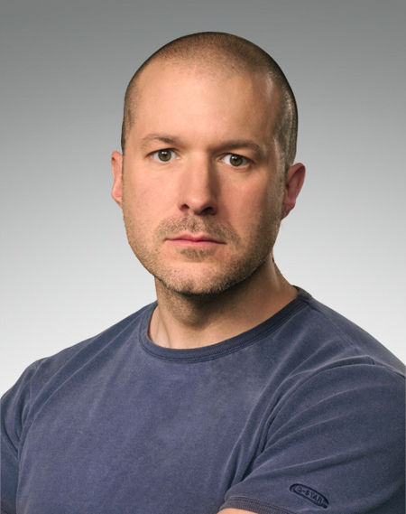 Jonathan Ive. Foto oficial de Apple