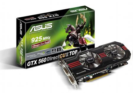 Asus lanza nueva tarjeta gráfica GTX 560