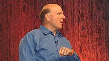 Windows Mobile, tema de conversación de Ballmer