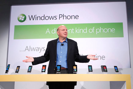 Windows Phone 7 no será para tablets