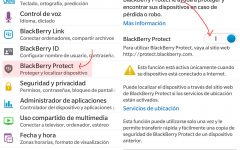 Configurar BlackBerry Protect con BlackBerry 10
