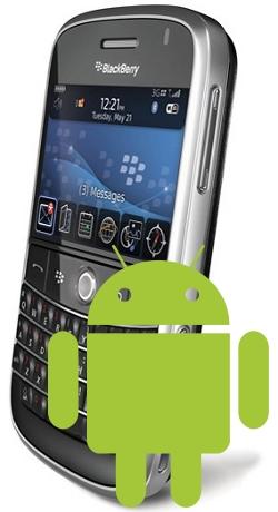 Las futuras BlackBerry podrían ejecutar aplicaciones de Android