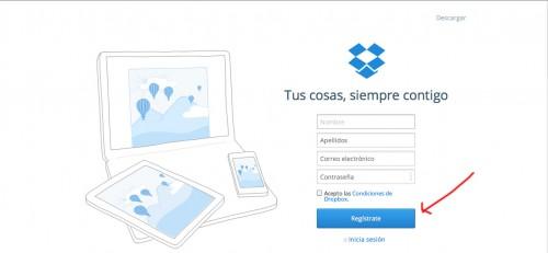 Cómo compartir archivos en Internet con Dropbox