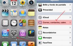 Configurar tu e-mail con iPhone / iPod / iPad