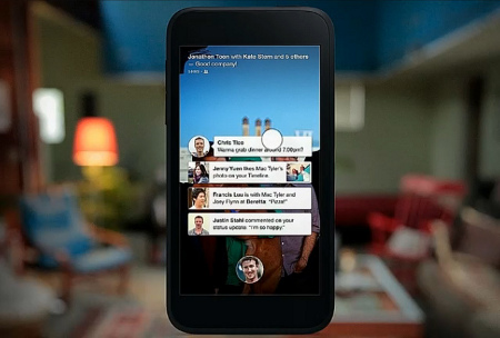 Mark Zuckerberg presenta Facebook Home