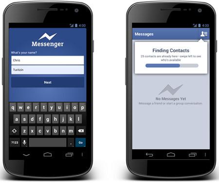 Facebook abre su mensajería instantánea