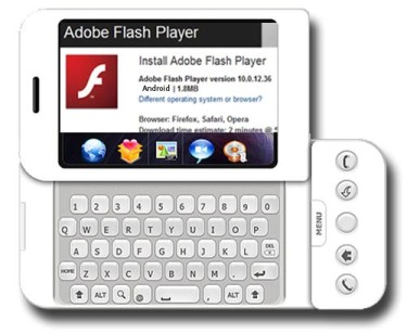 Primer Flash Player para móviles
