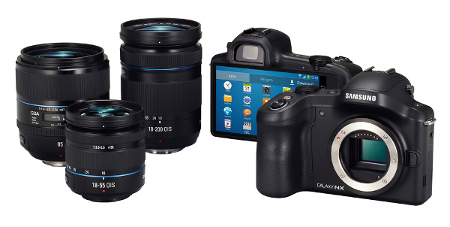 Nueva Galaxy Camera con objetivos intercambiables
