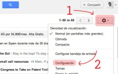 Configurar correo POP en GMAIL con BlackBerry 10