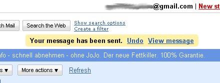 Gmail ya nos permite deshacer el envío de un mensaje de correo