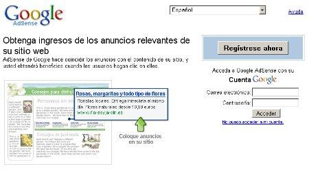 Google presentará a los internautas anuncios basados en sus intereses