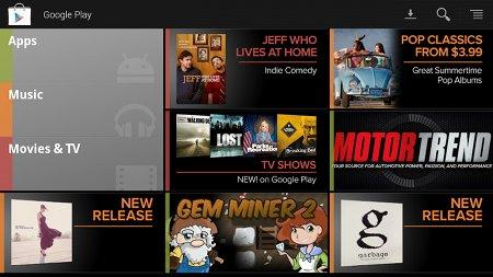 Se renueva Play para Google TV