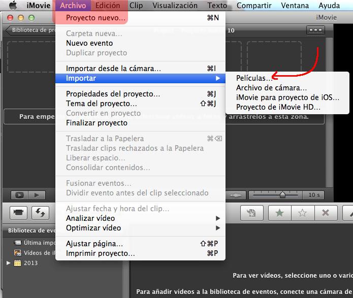 how to cut on mac imovie
