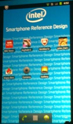 CES 2012: smartphone de referencia de Intel