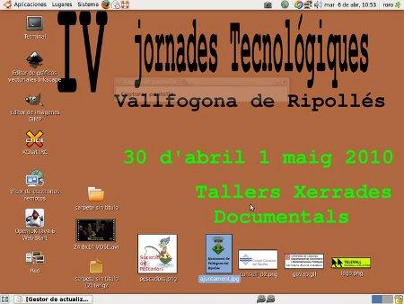 Cuartas Jornadas Tecnológicas de Vallfogona del Ripollés