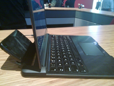Visto en CES: Motorola Laptop Dock