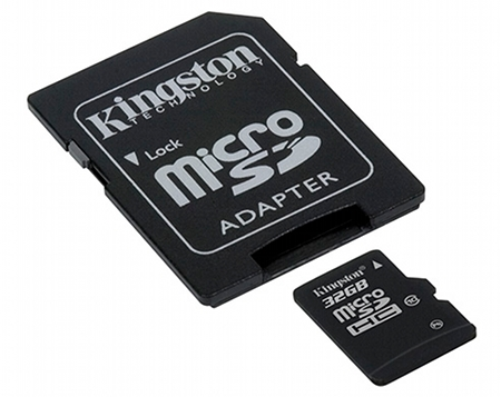 Kingston duplica la capacidad de sus tarjetas microSDHC clase 10