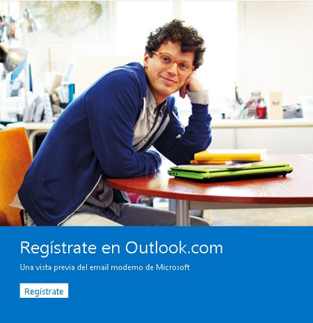 Entrada a Outlook.com