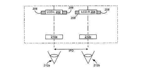 Uno de los esquemas explicativos que forman parte de la patente solicitada por Apple