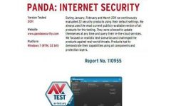 Panda Internet Security 2011, certificado para Windows 7