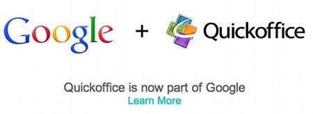 Google se queda con QuickOffice