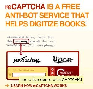 reCAPTCHA: un invento genial!