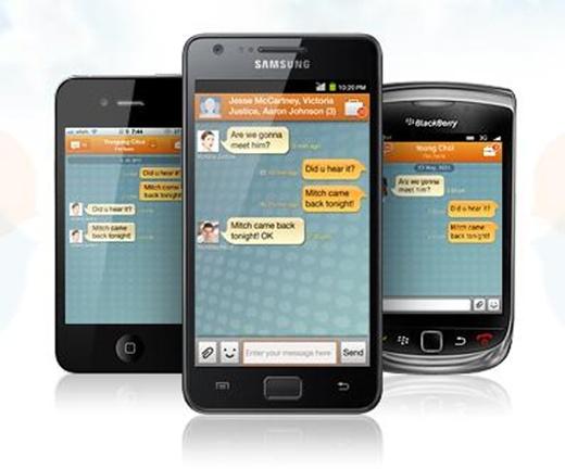 ChatOn, el servicio de chat para móviles de Samsung