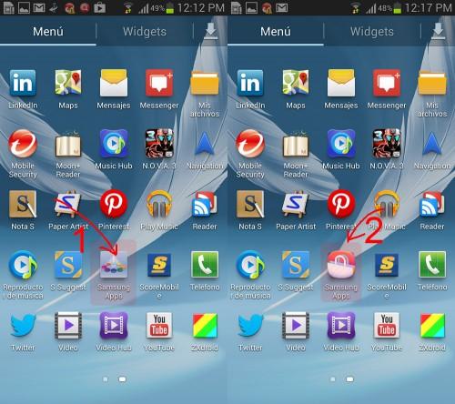 Crear una cuenta Samsung con un móvil Galaxy
