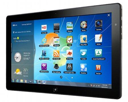 Microsoft entrará con fuerza en el mercado de los tablets en 2012