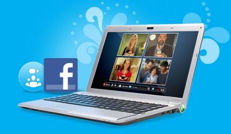 Skype integra Facebook