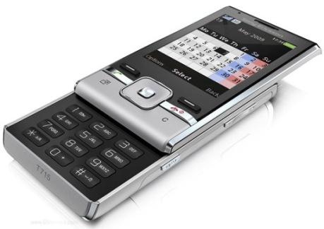 Móvil tipo Slider Sony Ericsson T715
