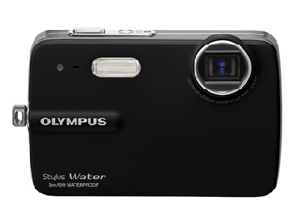 Stylus 550WP de Olympus a prueba de agua