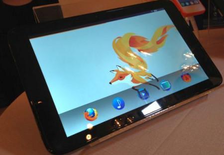 Tablet Firefox OS fabricat per Foxconn
