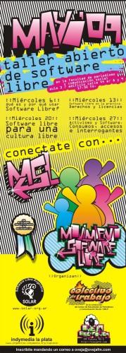 Mayo: talleres gratuitos sobre Software Libre en la Facultad de Periodismo, UNLP