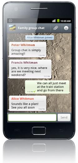 La mensajería móvil disparará su uso