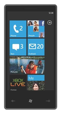 ¿Primeros smartphones Windows Phone 7 para antes de navidades?