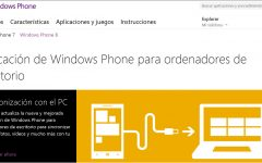 Copiar y cargar música a un móvil con Windows Phone